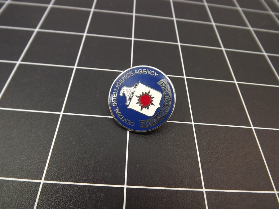 Central Intelligence Agency Enamel Lapel Pin BRAND NEW lifetime guarantee 2