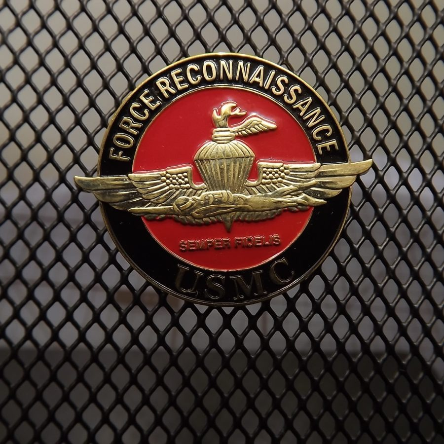 "BRAND NEW Lapel Pin ""USMC Force Reconnaissance "" ENAMELED LIFETIME GUARANTEE 4"