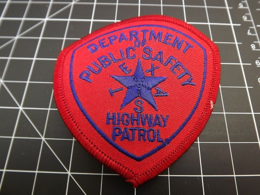 TEXAS HIGHWAY PATROL POLICE PATCH BRAND NEW 1