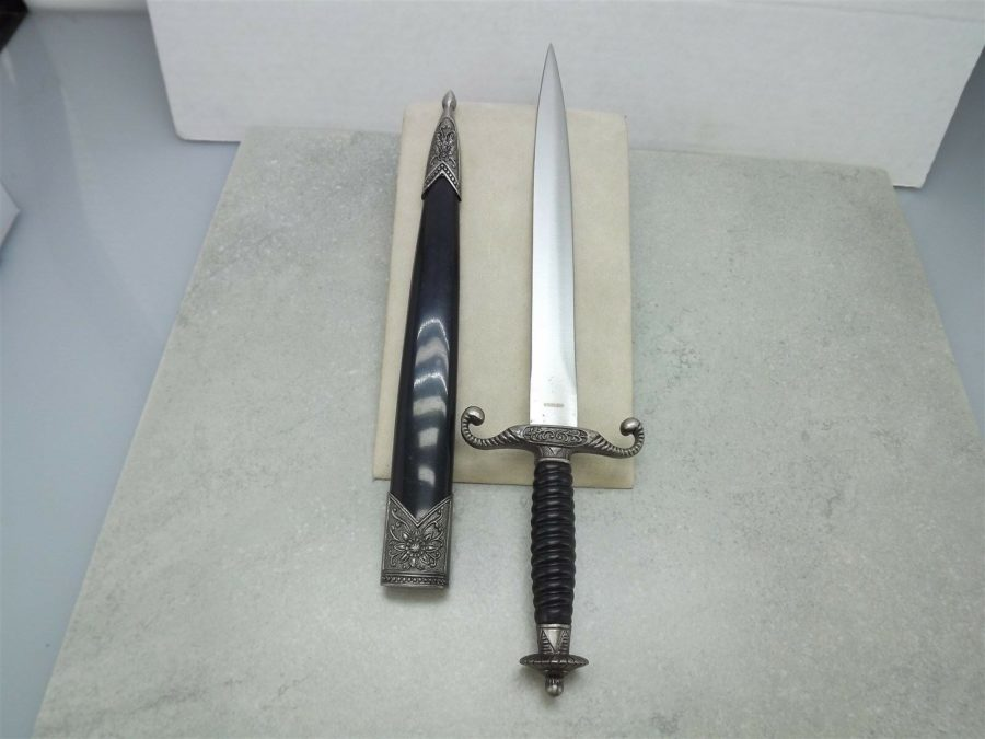 New ANCIENT STYLE KNIGHTS DAGGER Sword  With Sheath BRAND NEW 4