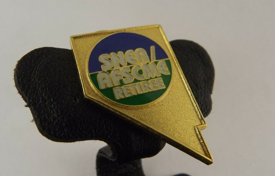 SNEA / AFSCME RETIREE LAPEL / HAT PIN BRAND NEW ENAMELED 2