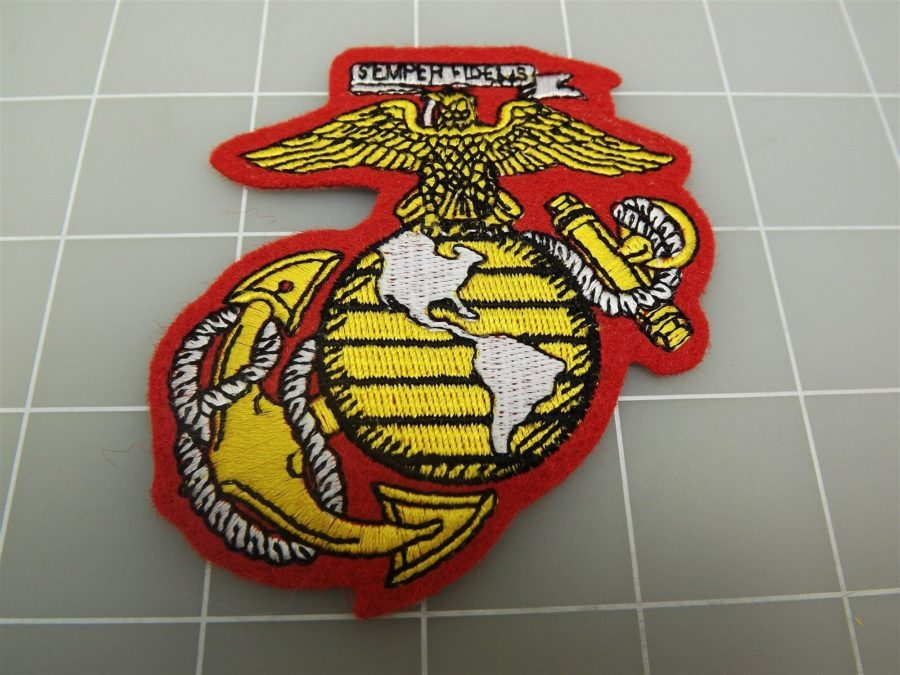 "BRAND NEW U.S. Marine Corps USMC Globe & Anchor Patch 3 1/4"" 1"