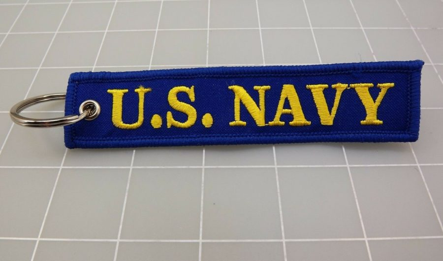 KEY RING KEYCHAIN BRAND NEW U.S. NAVY AMERICA'S NAVY 2