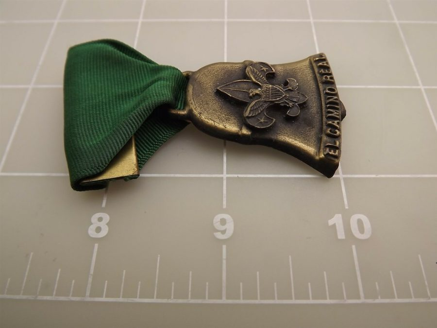BOY SCOUT EL CAMINO REAL TRAIL MEDAL SAN DIEGO COUNTY COUNCIL CALIF 4