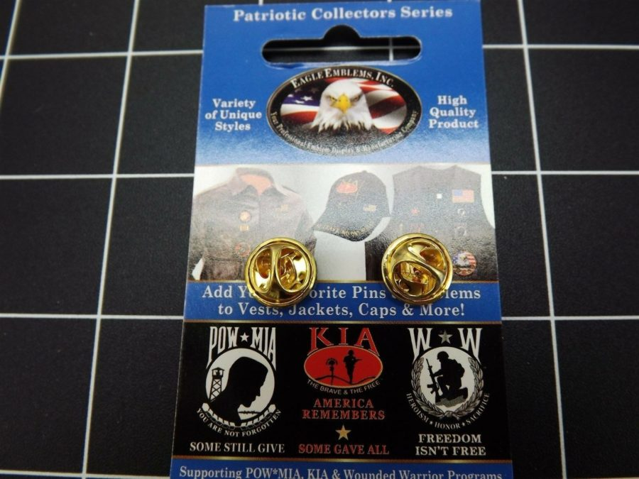 "BRAND NEW Lapel Pin ""U. S. Marine"" USMC 1 3/8"" LIFETIME GUARANTEE 3"