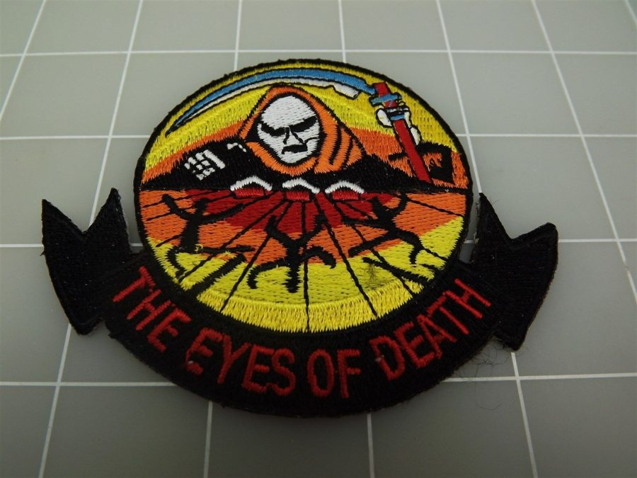 "BRAND NEW U.S. Marine Corps USMC THE EYES OF DEATH Skull Patch 3 3/8"" 1"