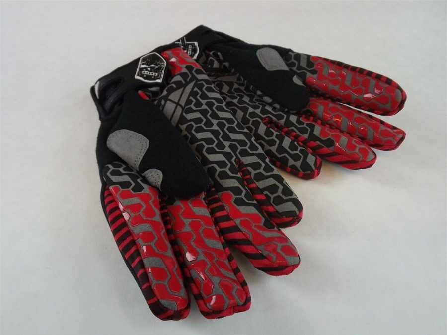 New FLY SWITCH GLOVE BLACK/GRAY BMX Mountain Bike DJ Gloves Size 7 (Adult XS) 3