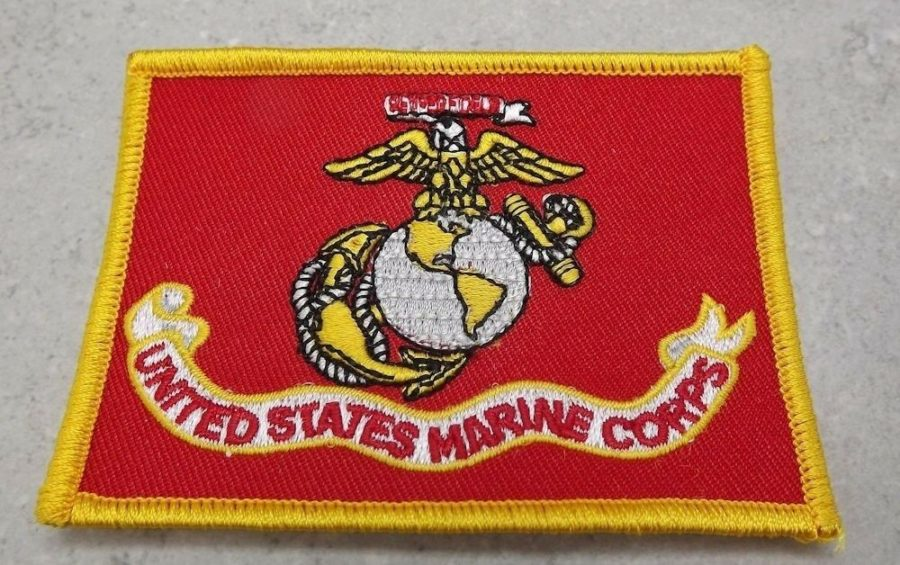 "MARINE CORPS USMC PATCH LOGO SEMPER FI XL NEW 3.5"" 1"