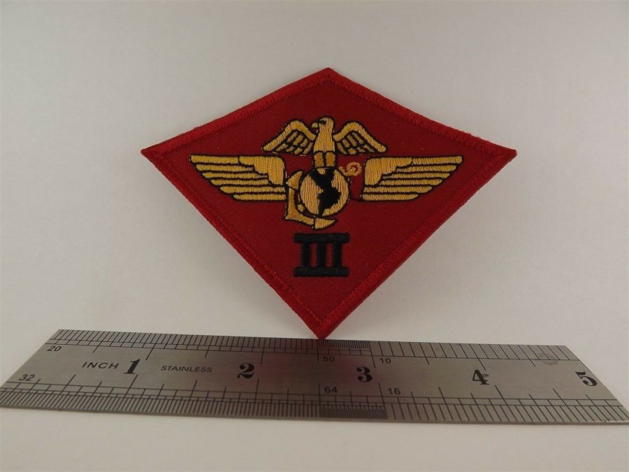 UNITED STATES MARINE USMC 3rd Air Wing Division Iron on Patch BRAND NEW 3