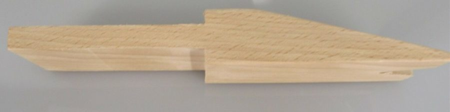 Wooden Pin for Bench Clamp 7-1/2-Inch by 1-1/2-Inch JEWELERS FILING 4