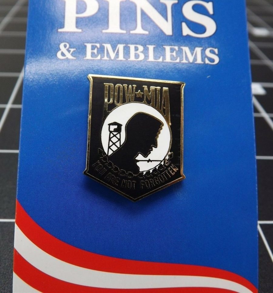 "BRAND NEW Lapel Pin POW MIA You Are Not Forgotten 1"" 1"