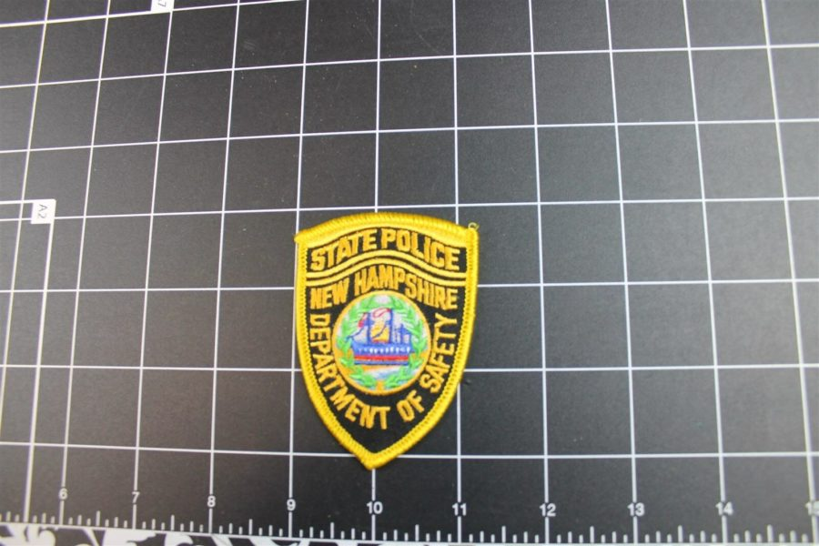 """NEW HAMPSHIRE"" STATE POLICE PATCH BRAND NEW 1"