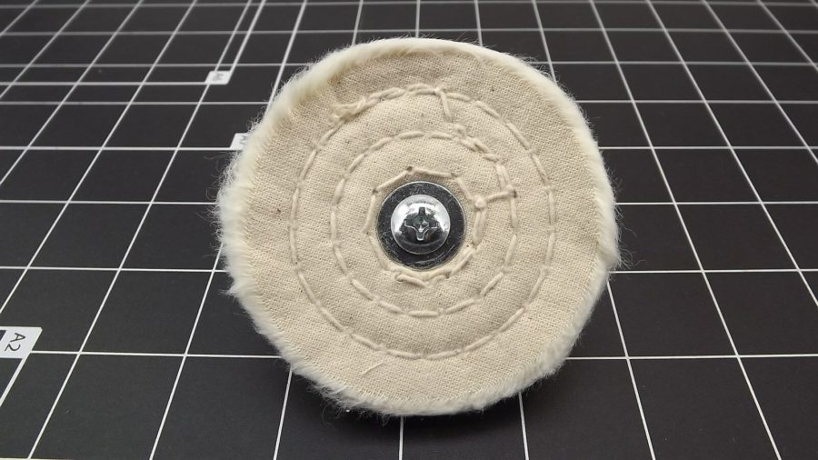 "New 3"" White Buffing Wheel (FORTY LAYERS) 1/4"" Shank Drill Polisher 3"
