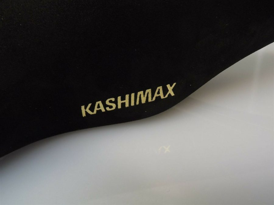 BRAND NEW Genuine Kashimax Seat BLACK SUEDE Old School BMX KX4A PADDED SADDLE 6