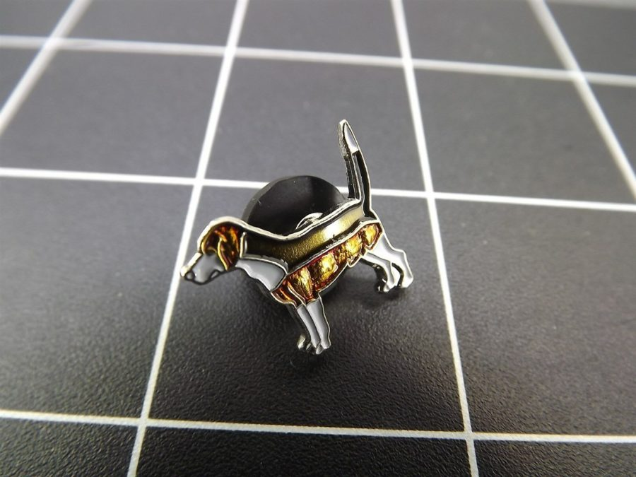 "BRAND NEW Lapel Pin Favorite Dog ""BEAGLE "" ENAMELED LIFETIME GUARANTEE 3"