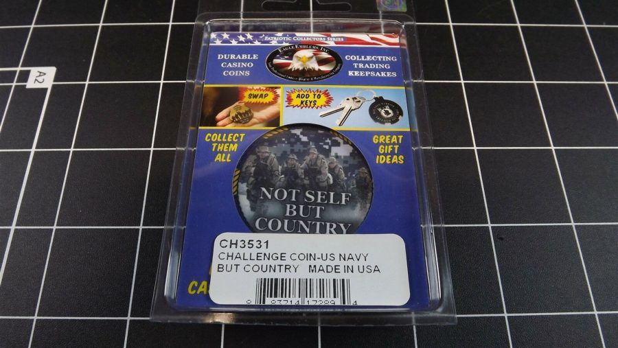 "CHALLENGE COIN, BRAND NEW DESIGN ""UNITED STATES NAVY USN"" PATRIOTIC 3"