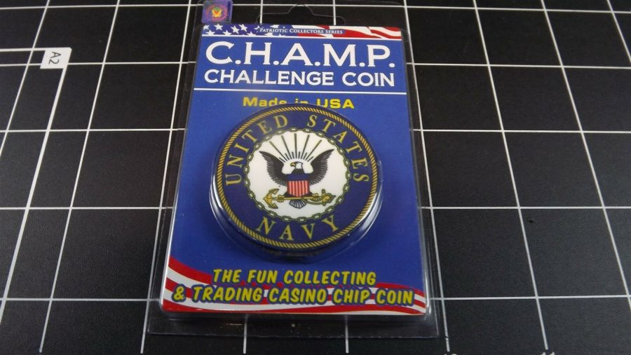 "CHALLENGE COIN, BRAND NEW DESIGN ""UNITED STATES NAVY USN"" PATRIOTIC 1"