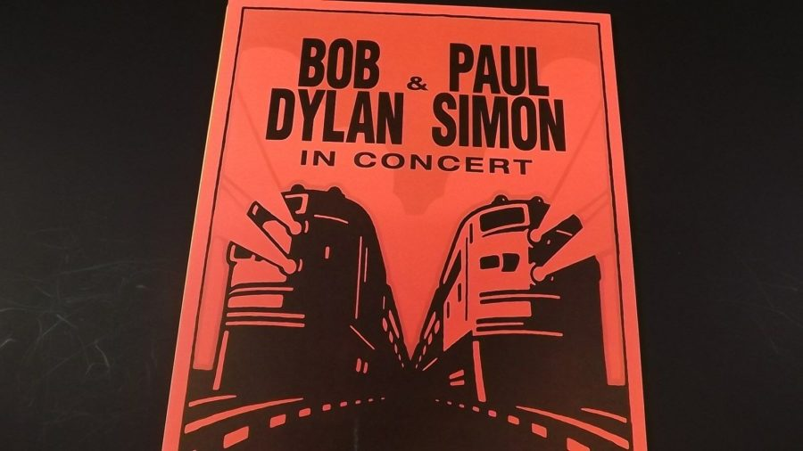 Genuine 1999 BOB DYLAN & PAUL SIMON In Concert Shoreline Poster Flyer Ad 4