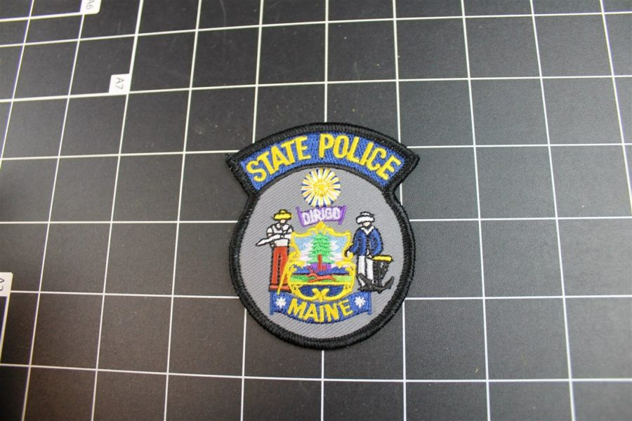 """MAINE"" STATE POLICE PATCH BRAND NEW 3"