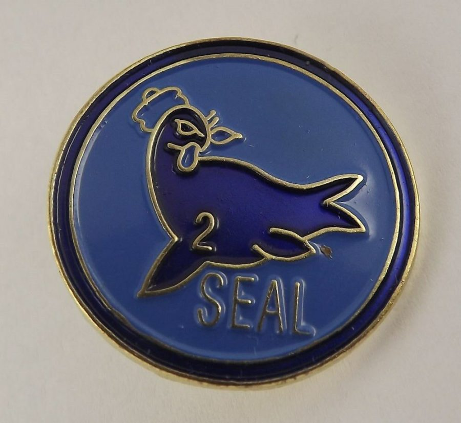 QUALITY MADE LAPEL HAT PIN ENAMEL USN NAVY SEAL TEAM 2 1