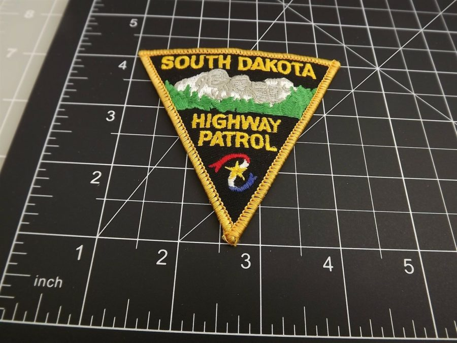 SOUTH DAKOTA HIGHWAY PATROL POLICE PATCH BRAND NEW 3