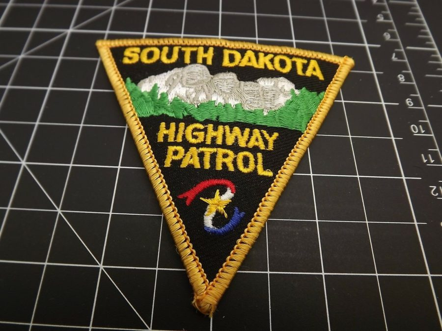 SOUTH DAKOTA HIGHWAY PATROL POLICE PATCH BRAND NEW 1