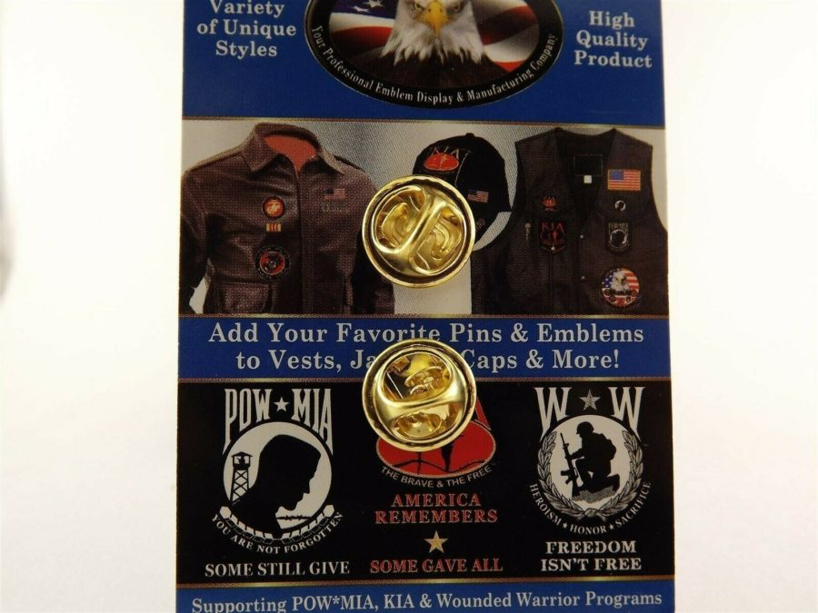 "BRAND NEW Lapel Pin United States Navy Logo Pewter 1"" 2"